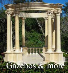 Browse our Marble Gazebos